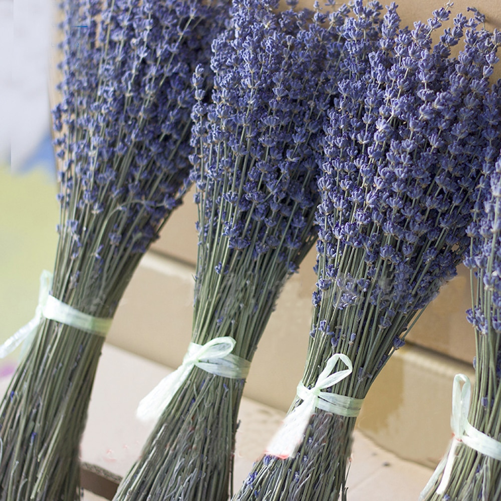 100g dried natural flower bouquets dried natural Lavender flower bouquet&lavender flower Bunches