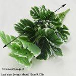 18 leaves white