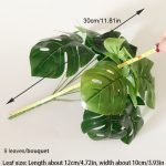 9 leaves green