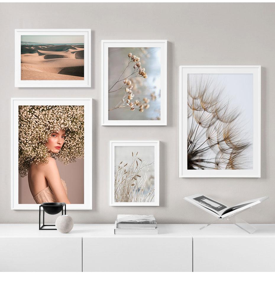 Angel's Breath & Sand Series Wall Art Poster Prints