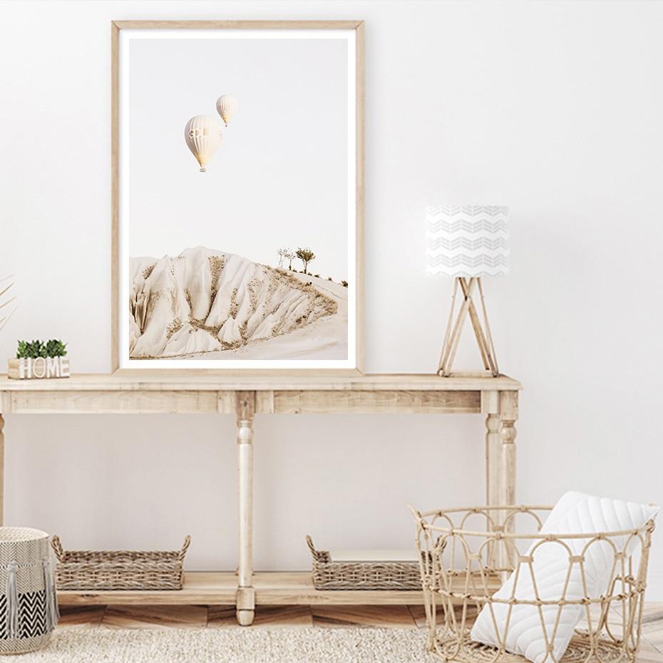 Santorini White Wall Art Poster Prints