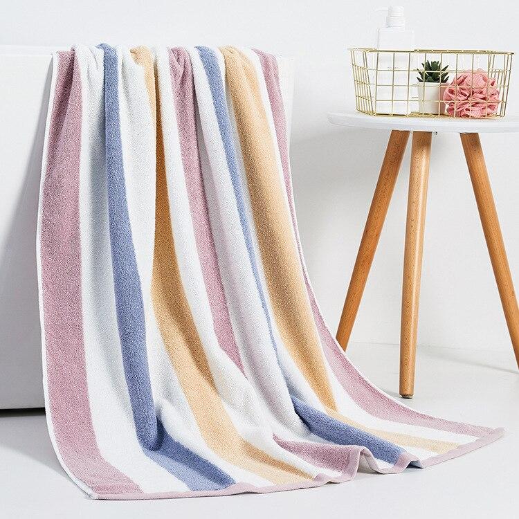Cotton Winter Thick Extra-large Bath Towel for Men Women's Absorbent  beach towel 90x180cm