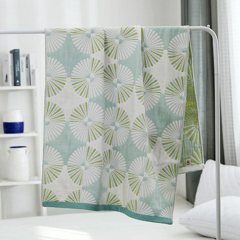 Dandelion 4-Layer Cotton Gauze Bath Towel