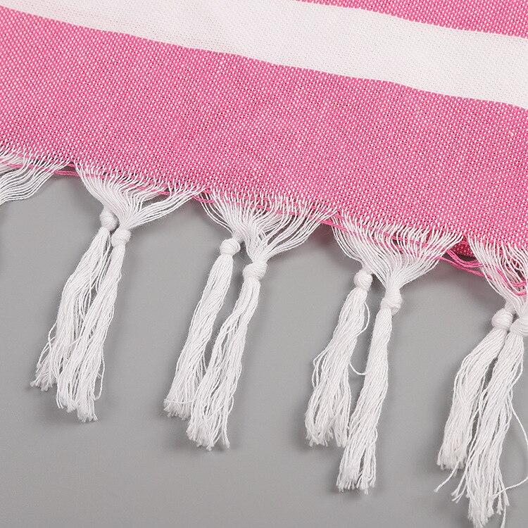 4pcs/lot Turkish Cotton Beach Bath Towel for Adults Yoga Gym Travel Towels Quick Dry Absorbents Shawl 100x180cm