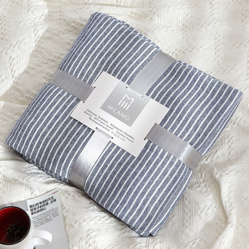 Dot Striped Summer Towel Blanket Heart Throws for Bed Picnic Travel Sofa Cozy Lightweight Breathable for Kids Adults