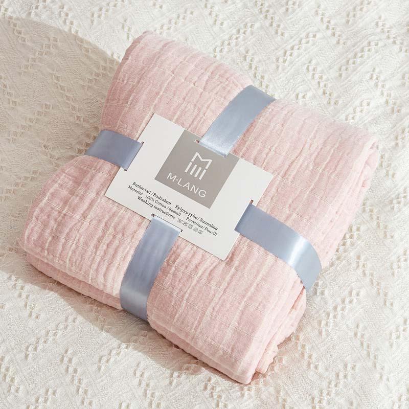 Lighweight Cotton Gauze Summer Blanket Throw