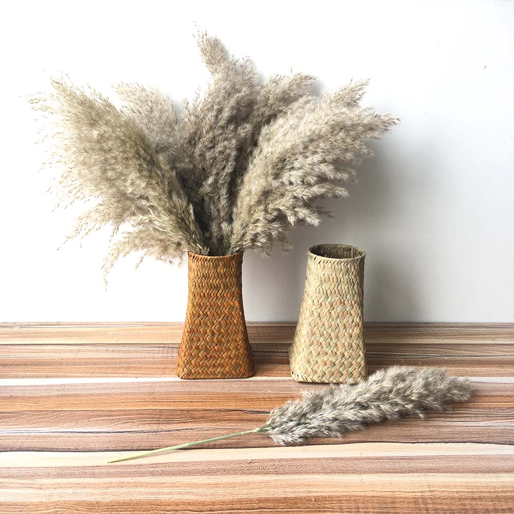 wedding flowers real big pampas grass large size decor Natural dried flowers bouquet feather flowers For Home Store party decor