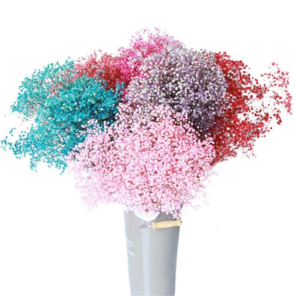 Outdoor derco baby breath gypsophila plants bouquet wedding bridal bouquet interior decorations