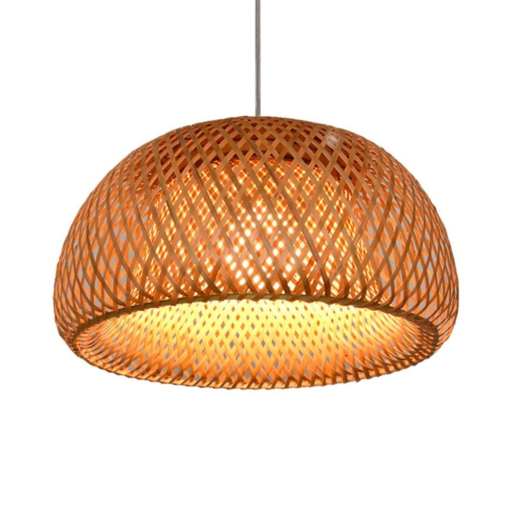Arturesthome indoor chandeliers Bamboo Weaving Rattan lamp kitchen Pendant Lights living room bedroom Hanging lighting Fixture