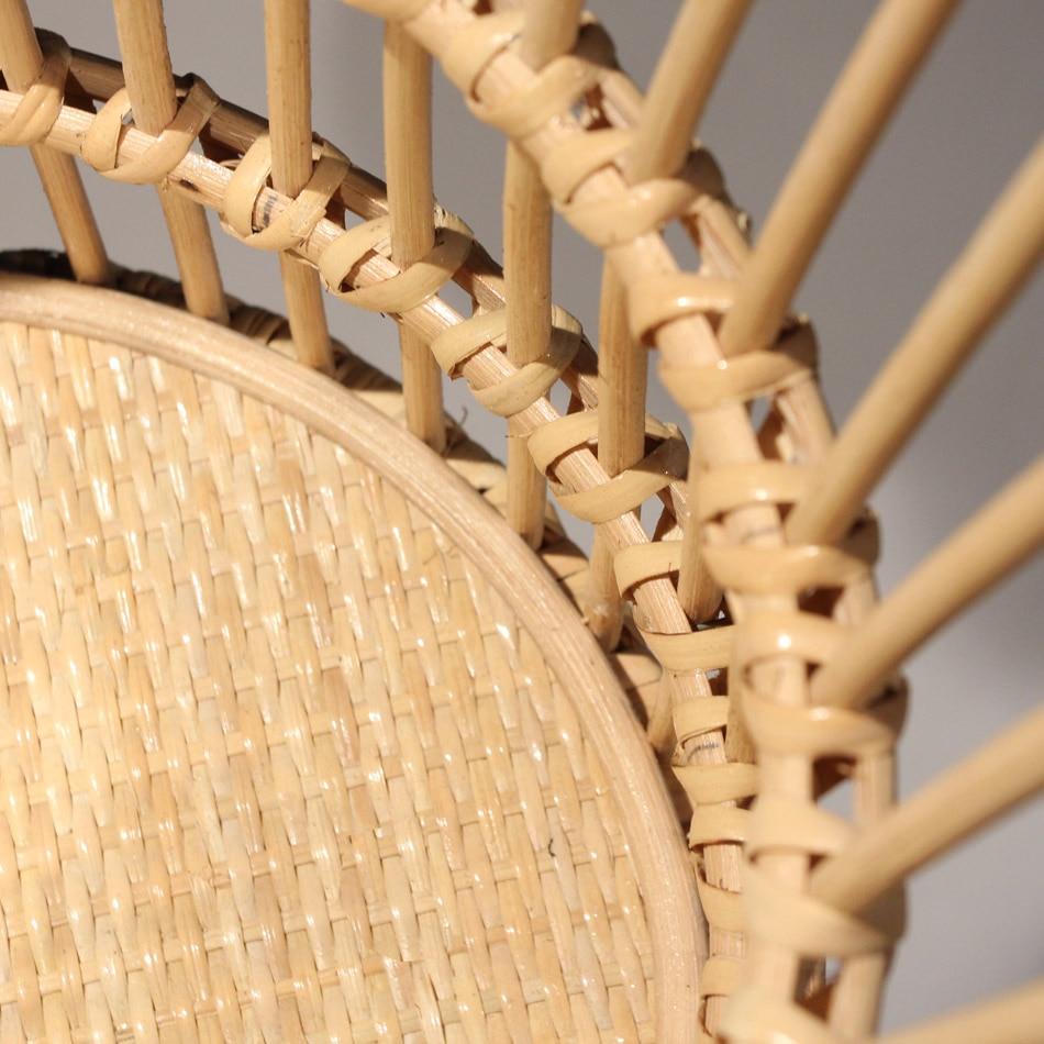 Storage basket hand woven rattan basket home large clothes basket
