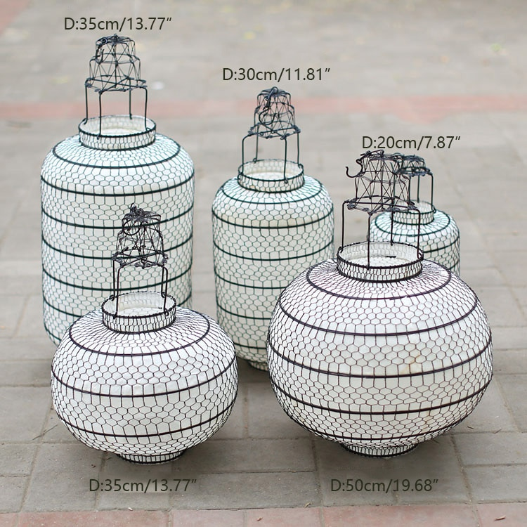 New Chinese lantern lampshade pendant lamp cover light cover