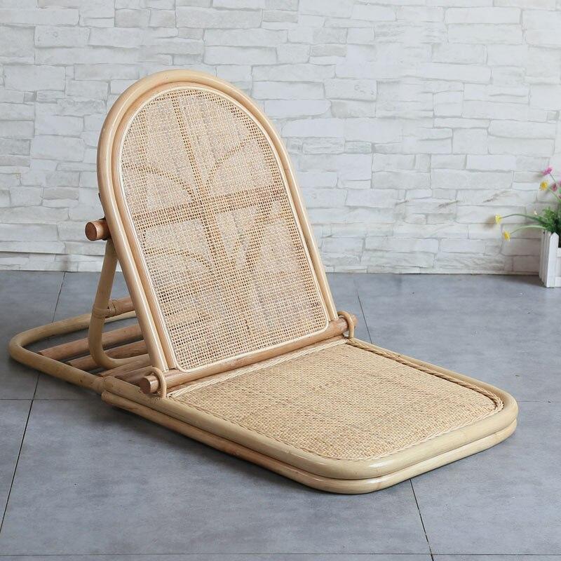 Foldable Rattan Lounge Chair