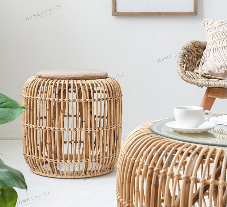 Small table Modern Handmade rattan coffee table rattan furniture