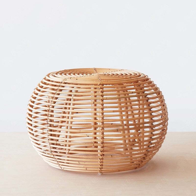 Side tables Modern round Ratten coffee table living room small table furniture